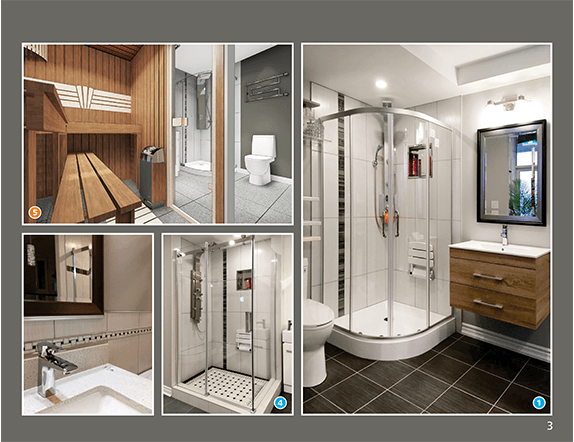 Basement Bathroom and Home SPA Catalog