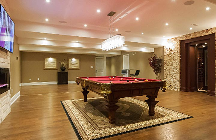 Basement Open Concept