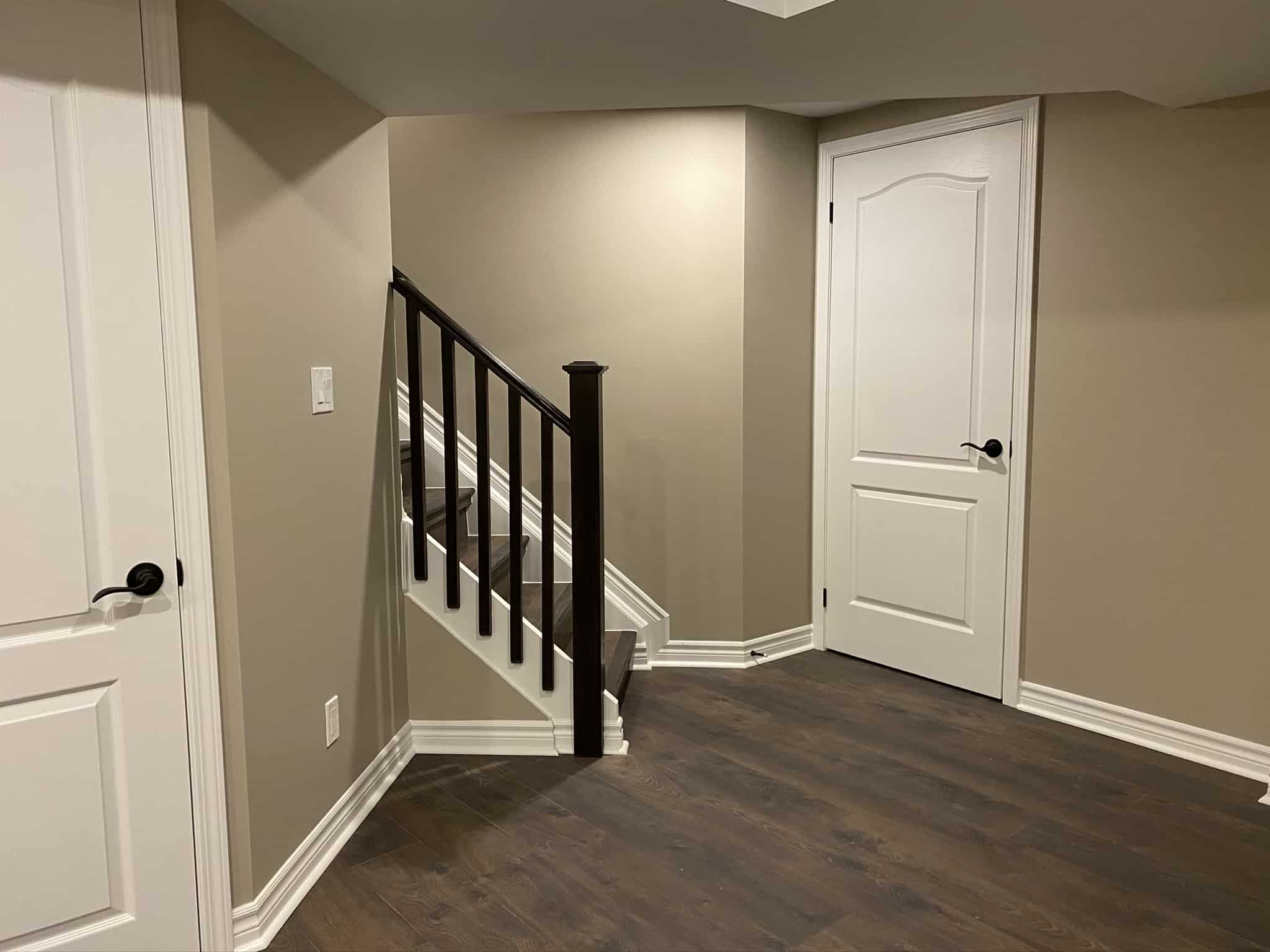 We Build Beautiful Basement Walkouts and Stairs